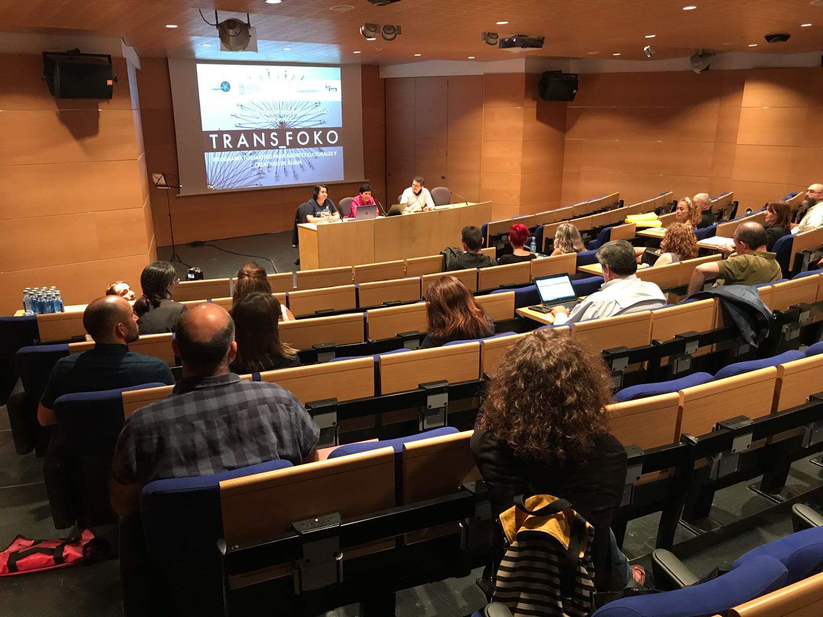 Transfoko culmina con una presentaci n final de trabajos for Trabajo en vitoria gasteiz