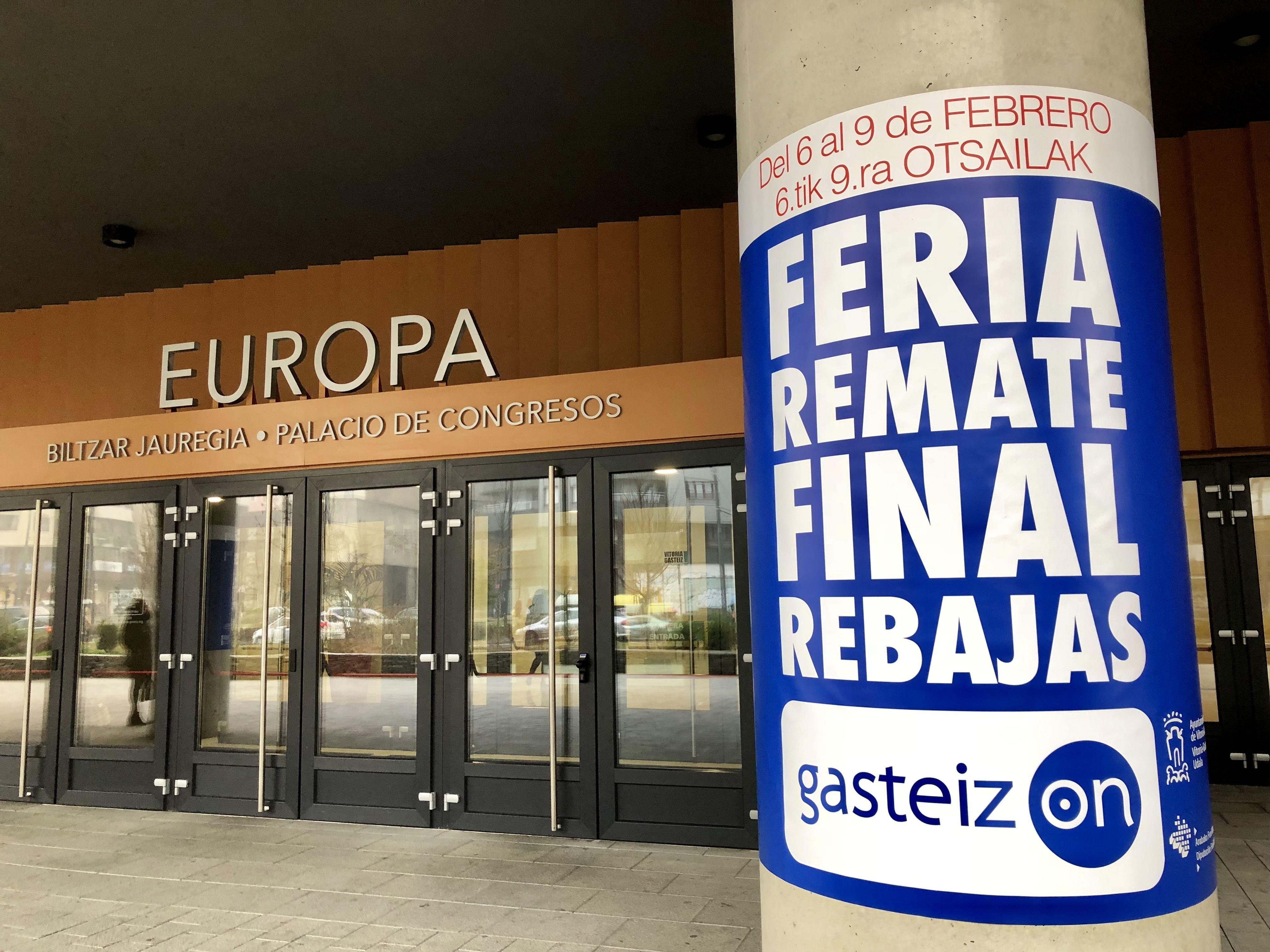 073b3140926 La concejala de Empleo y Desarrollo Económico Sostenible, Nerea Melgosa, ha  asistido a la apertura de la Feria de las Rebajas – Outlet de Gasteiz On  que se ...