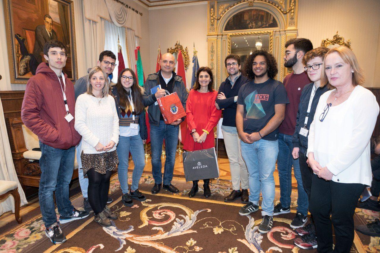 Recepcion A La Escuela De Hosteleria De Gamarra Y 5 Delegaciones Europeas Notas De Prensa