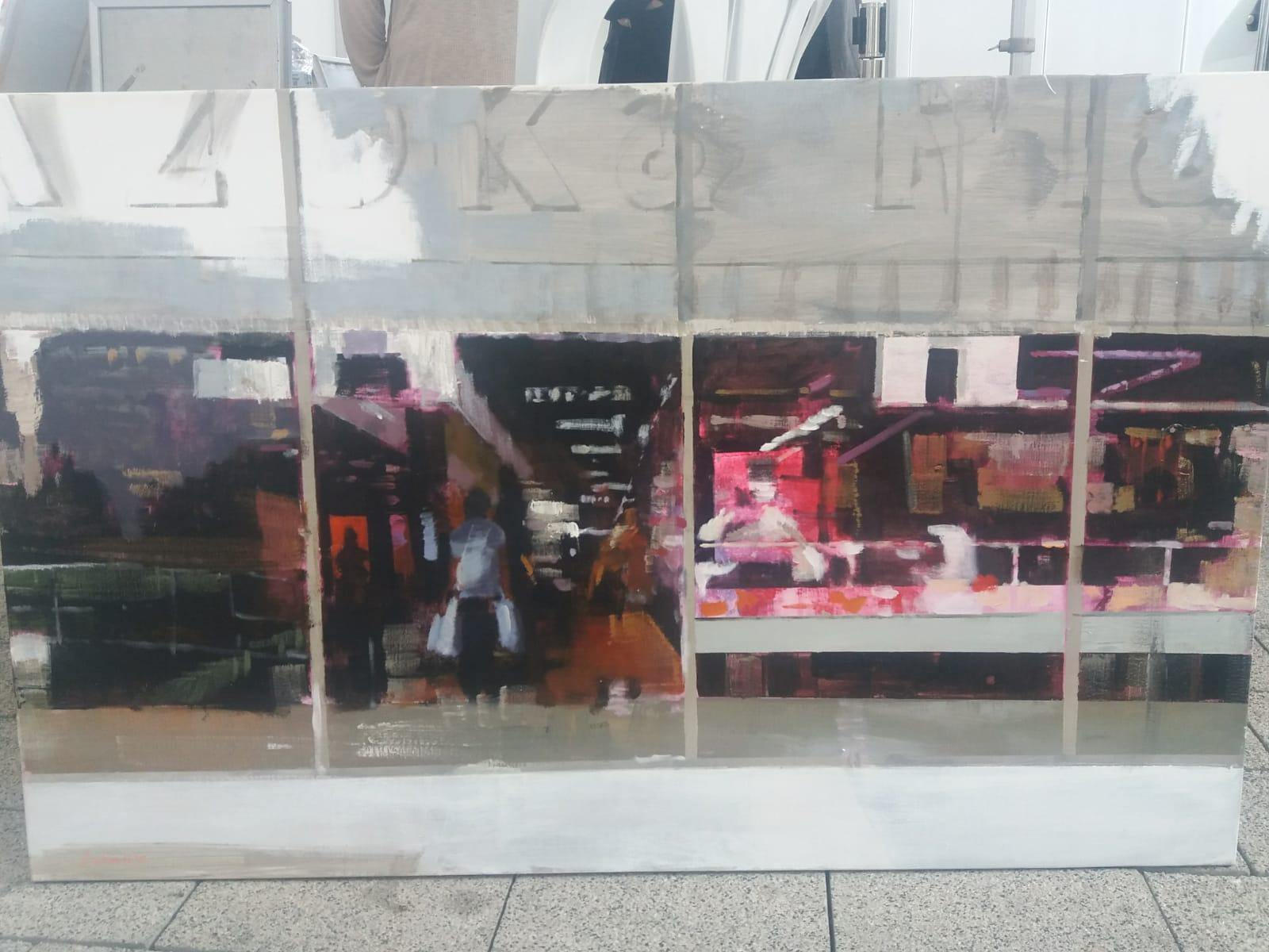 "2º- ""Cristalera del Mercado de Abastos"" José Miguel Arranz de Juan"
