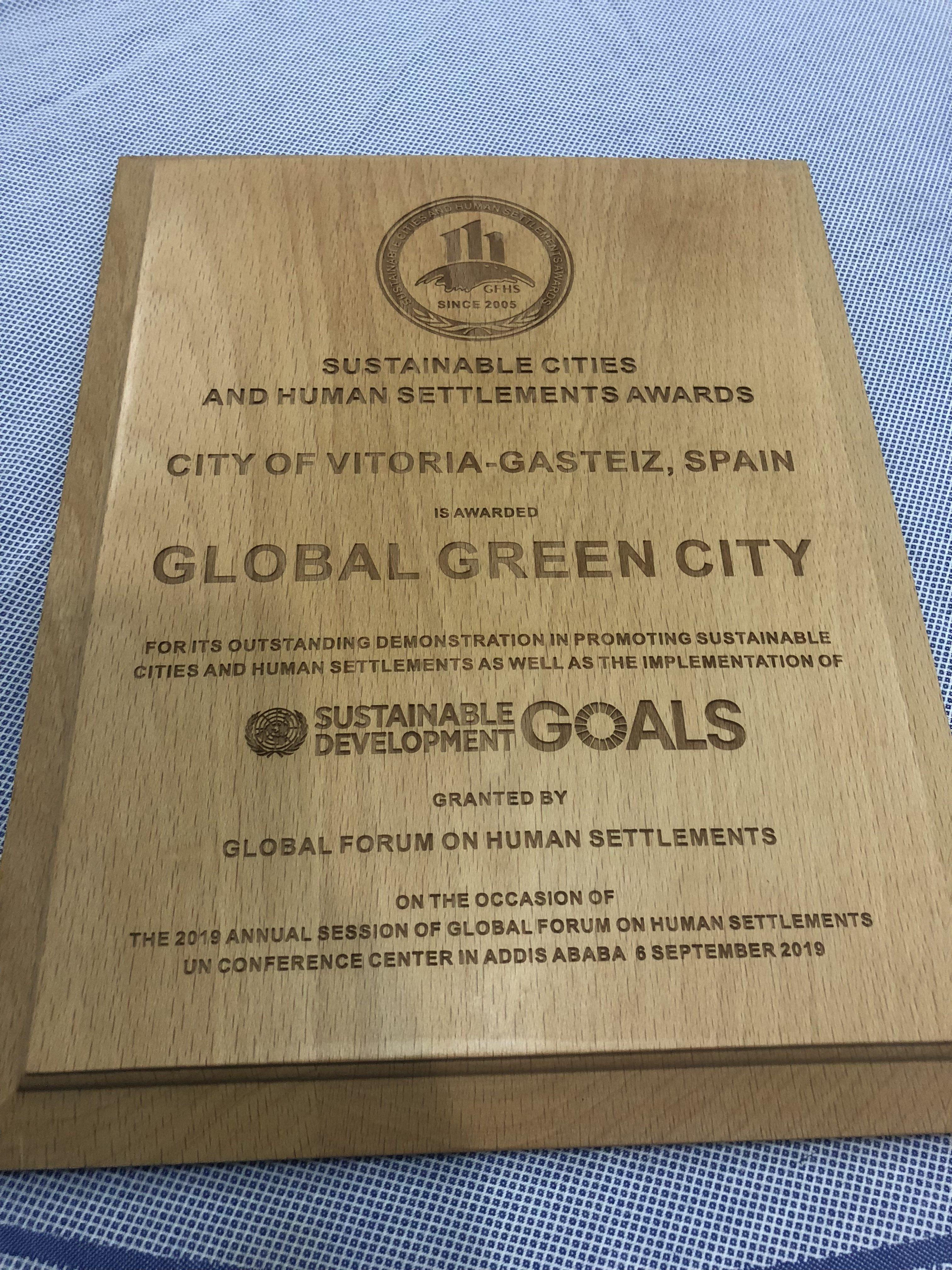 premio global green city