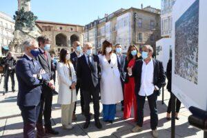 Visita a la exposición en la Virgen Blanca