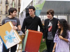 jóvenes ganadores del concurso