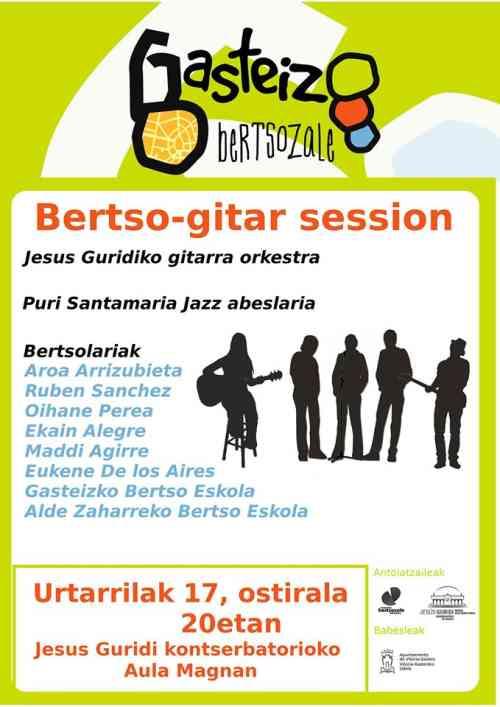 bertso-gitar session