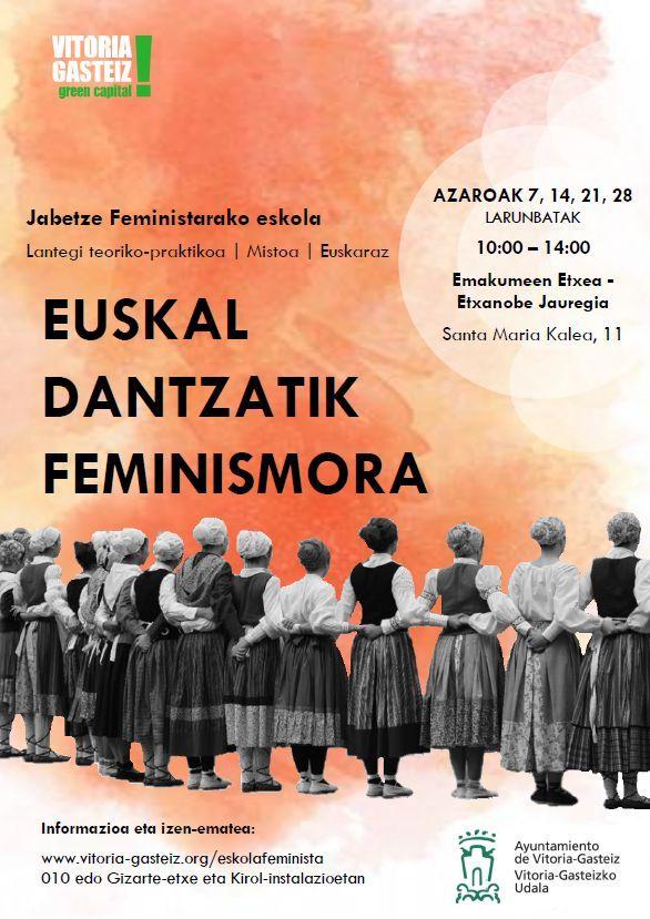 Euskal dantzatik feminismora
