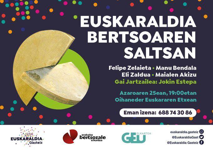 Euskaraldia Bertsoaren Saltsan