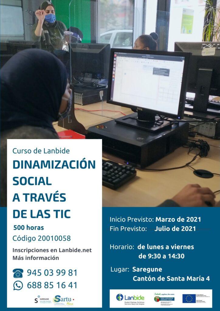 Dinamización social a través de las TIC