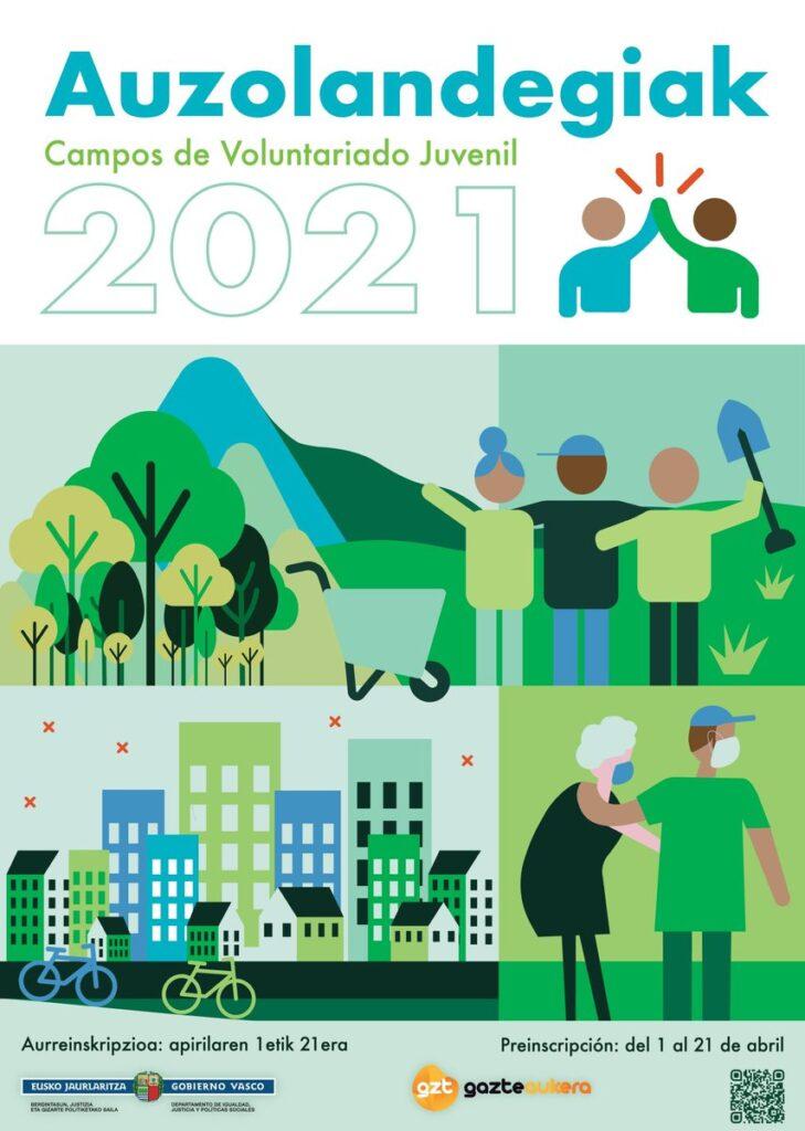 Auzolandegiak 2021